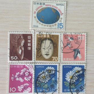 Япония. Разные марки.