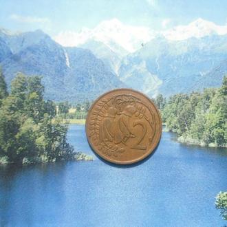 Новая Зеландия 2цента 1967г