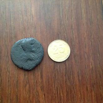 Древний Рим. Большая монета.