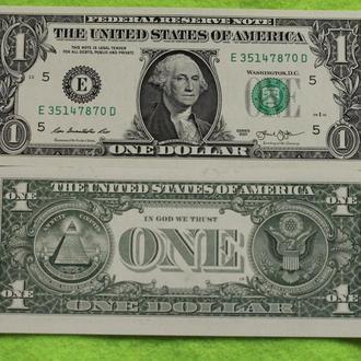 США 1 доллар 2013 UNC