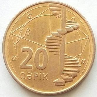 (К2) Азербайджан 20 гяпиков 2006