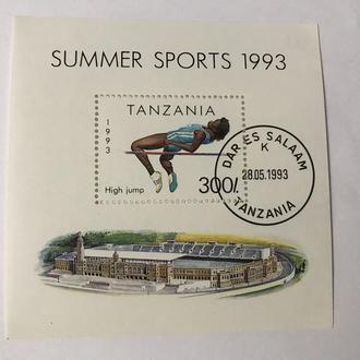 Танзания/ Африка/ Спорт/ Олимпийские игры/ 1993/