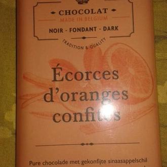 Обертка от шоколада Бельгия 70 грамм