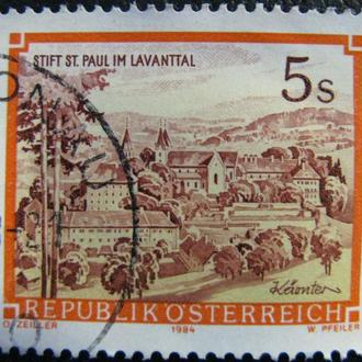 Марка Австрия 5, 1985 Abbeys and Monasteries in Austria