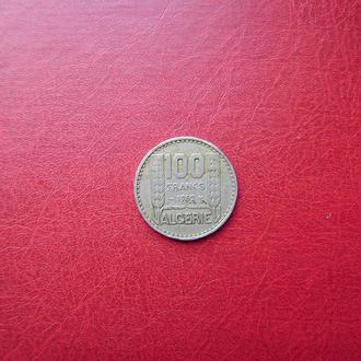 Алжир 100 франков 1952