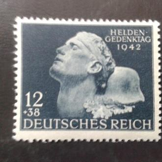 германия рейх-№812 MNH