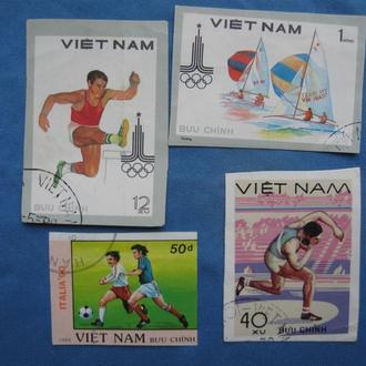 Вьетнам 4 шт