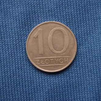 Польша 10 злотых 1984 г