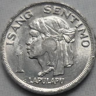 Филиппины 1 сентимо 1974