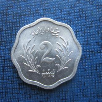монета 2 пайса Пакистан 1975 состояние