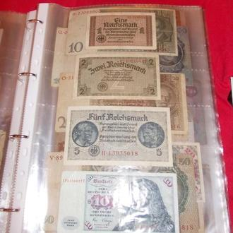 Листи для банкнот на 4 бони, 40мкм