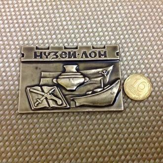 Медаль. настольная. Ленинградского оружейного музея (ЛОМ). СССР