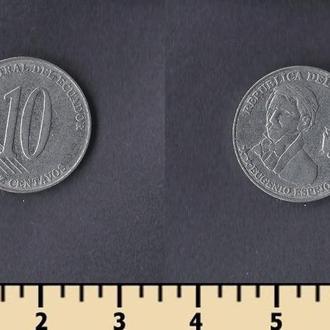 Эквадор 10 сентаво 2000