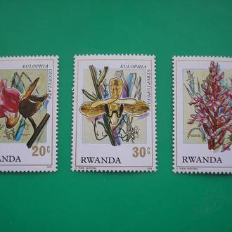 Руанда  Цветы   MNH