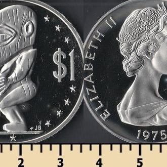 КУКА ОСТРОВА 1 ДОЛЛАР 1975