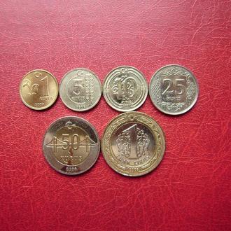 Турция набор 6 монет 2009