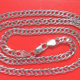 Цепочка серебро 925 проба 18,98 гр. длина 62 см. новая
