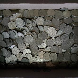 Мегалот 498 монет номиналом 20 копеек СССР Послереформа 1961 - 1991 года.