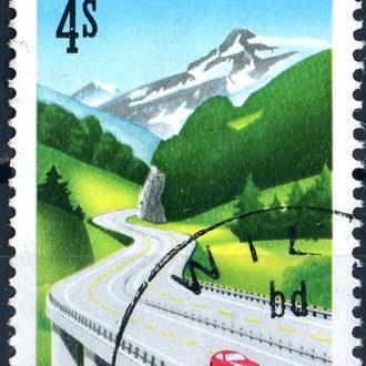 Австрия. Дороги (серия) 1988 г.