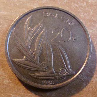 Бельгия 10  франков  1980  (1)