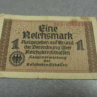 банкнота 1 рейхсмарка 1940-45 германия №53