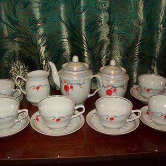 Чайный сервиз про-во СССР Барановка