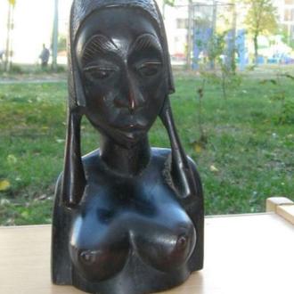 Продажа статуэтки в единственном экземпляре. Вымершего племени, из красного дерева