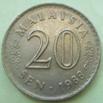 (А) Малайзия 20 сен 1988