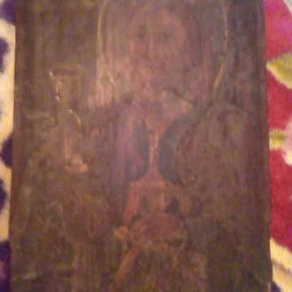 Икона нарисована на дереве