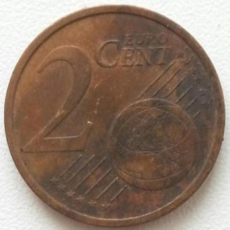 Германия 2 евро цента 2002 -J-