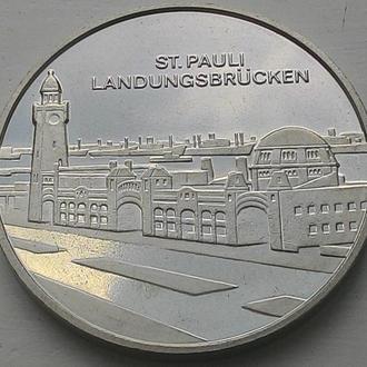 Германия медаль Гамбург