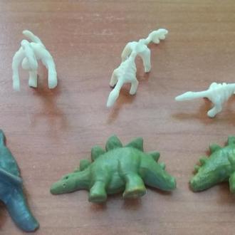 динозавры  некомплекты  за все с фото
