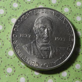 Португалия 1977 год монета 25 эскудо !