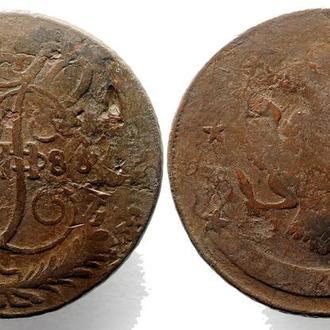 5 копеек 1788 СПМ года №3306