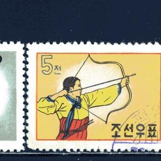 КНДР. Национальный спорт 1960 г.