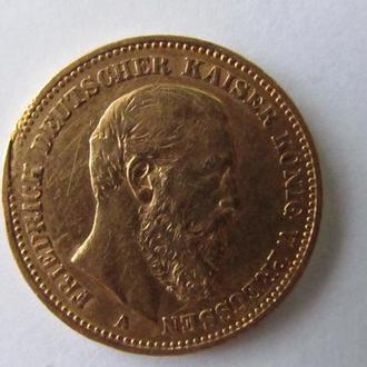 20 марок 1888год