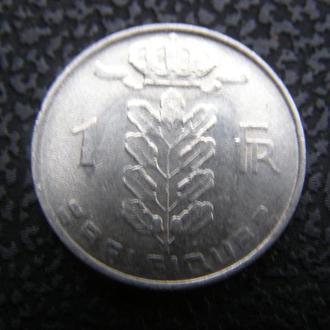 1 франк 1980г Бельгия