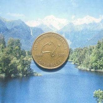 Австралия 1доллар 2001г