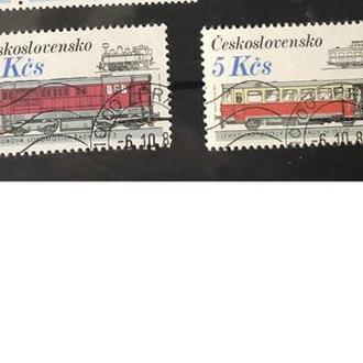 1986. Чехословакия. Поезда