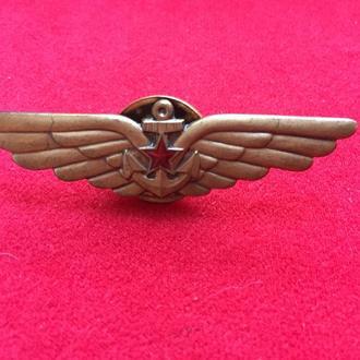 Знак лётчика палубной авиации ВМФ СССР.