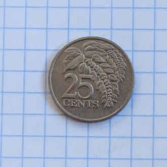 Тринидад и Тобаго 25 центов