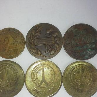 Медали бронза латунь медь разные