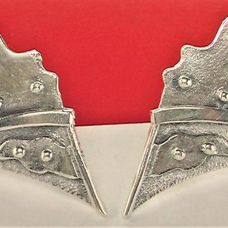 Серьги серебро СССР 925 проба 6,50 грамма