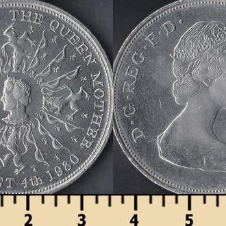 Великобритания 25 пенсов 1980