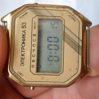 часы Электроника 53 рабочие новые 13033
