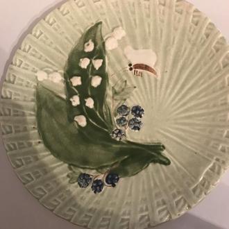 фарфоровая тарелка Каменнобродский фаянсовый завод Каменоброд(Каменный брод)