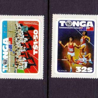 Тонга 1982 г  MNH - самоклейка