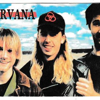 Календарик 2000 Рок, Grunge, Nirvana