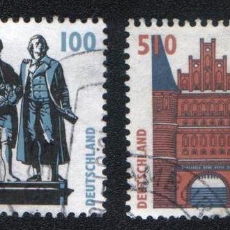 Германия, ФРГ (1997) Памятники и архитектура. Стандарт