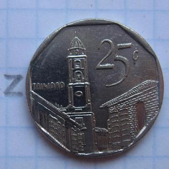 КУБА, 25 сентаво 2006 года.